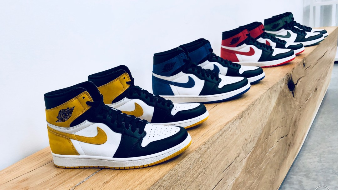2daee087e8970c Four Air Jordan 1 Colorways Debut in the  Best Hand in the Game ...