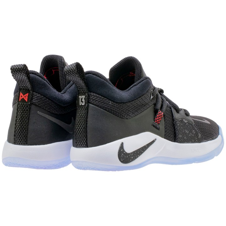 NIKE PG2 GS BLACK:BLACK-WHITE-SOLAR RED 2