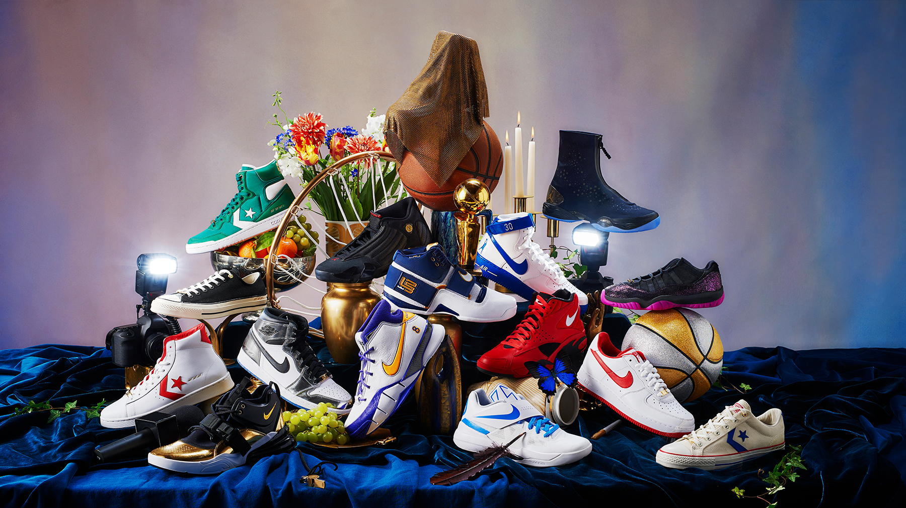 Nike Basketball Hd Wallpaper Nike Celebrates Historic Playoff Moments With Art Of A