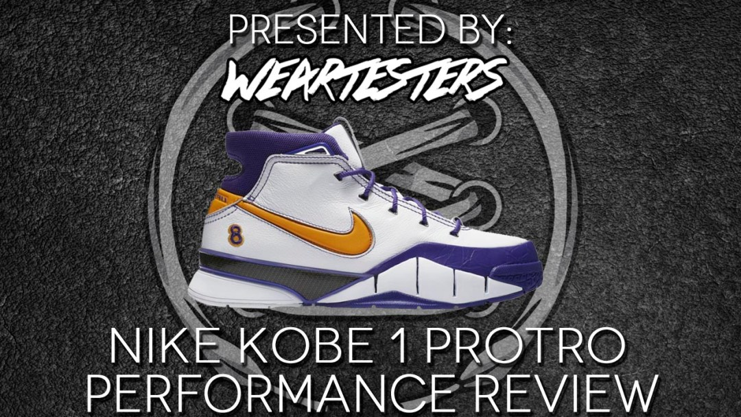 buy popular 36be4 cc327 Nike Kobe 1 Protro Performance Review - WearTesters