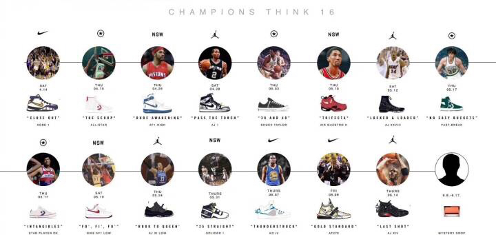 de7fb367a95e1d Nike Releasing Retro Models in Champions Think 16 Campaign 1 ...