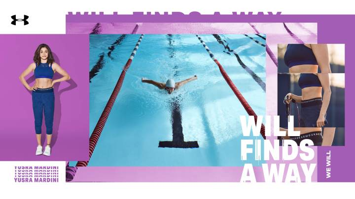 Under Armour will finds a way Yusra Mardini