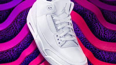 air jordan 3 pure white 2018