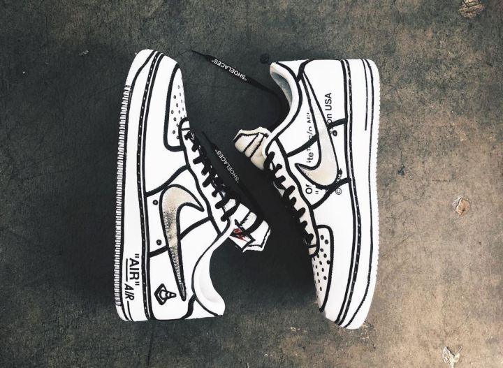 quality design 812d9 a778f joshua vides off white air force 1 lebron james