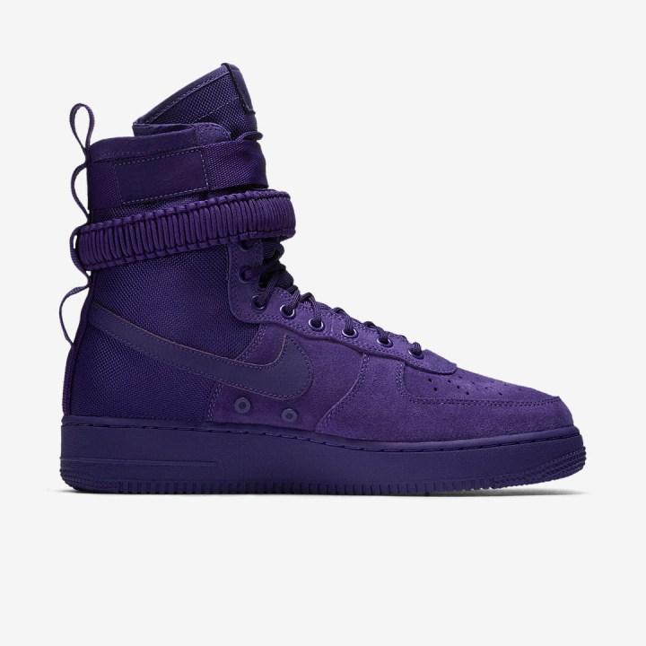 nike SF AF1 court purple 2