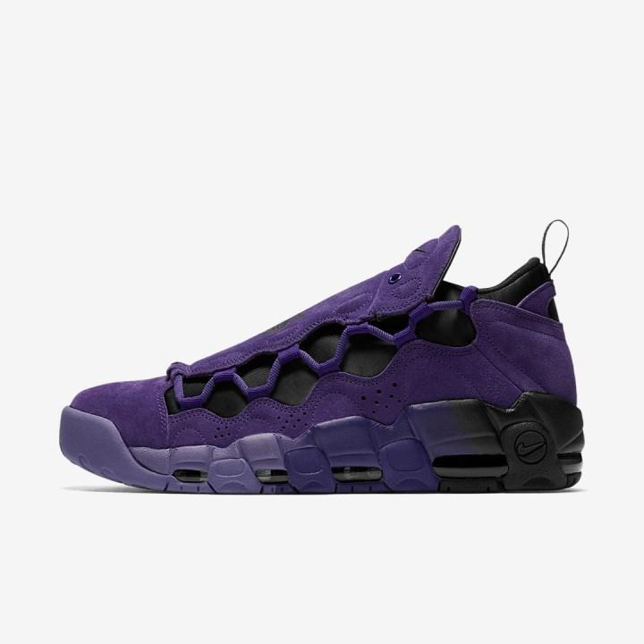 nike air more money court purple quickstrike 2