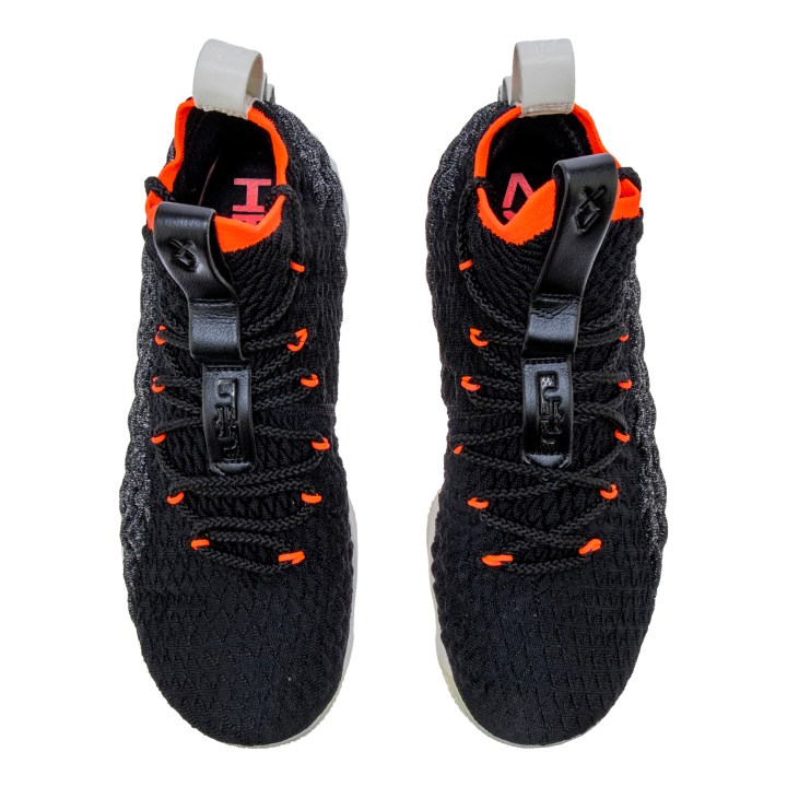 aa3758dc0ba New Nike LeBron 15  Black Sail Bright Crimson  Releases in May ...