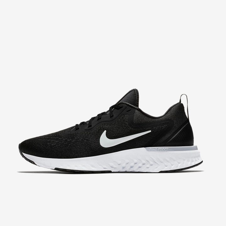 nike odyssey react black white 2
