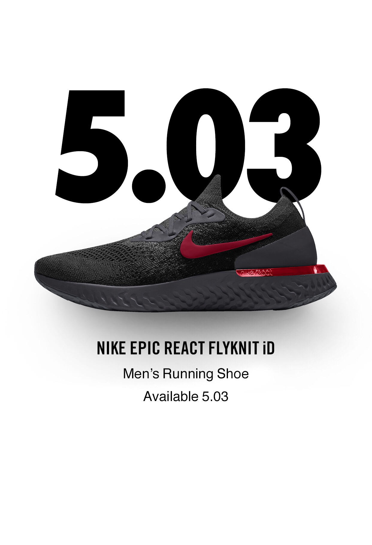 b22bc1ce2201 The Nike Epic React Flyknit is Coming to NIKEiD Tomorrow - WearTesters