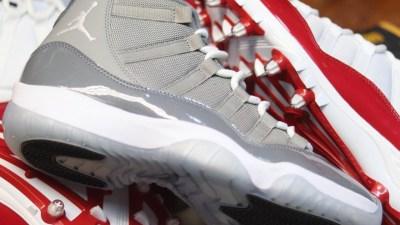 94658363e649 Air Jordan 11 Cleat Turned Into a Wearable Air Jordan 11 Sneaker
