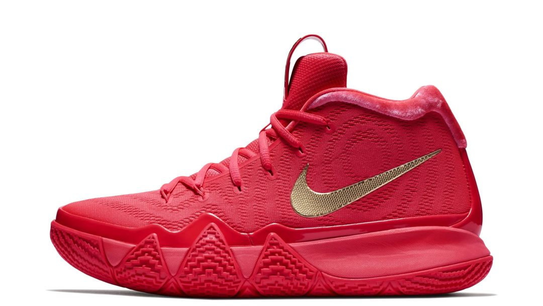 d7da7d6274ff The Nike Kyrie 4  Red Carpet  Was a Facebook Messenger Exclusive ...