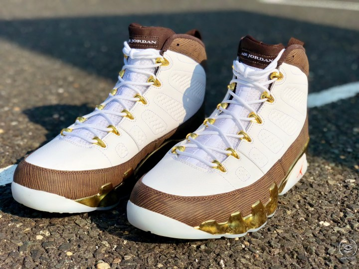 3cdfb1d798b Detailed Look at the Air Jordan 9 'MOP Melo' - WearTesters