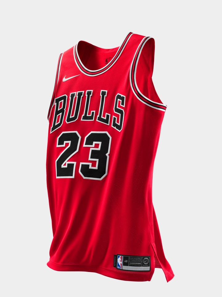 Michael Jordan authentic jersey last shot 0