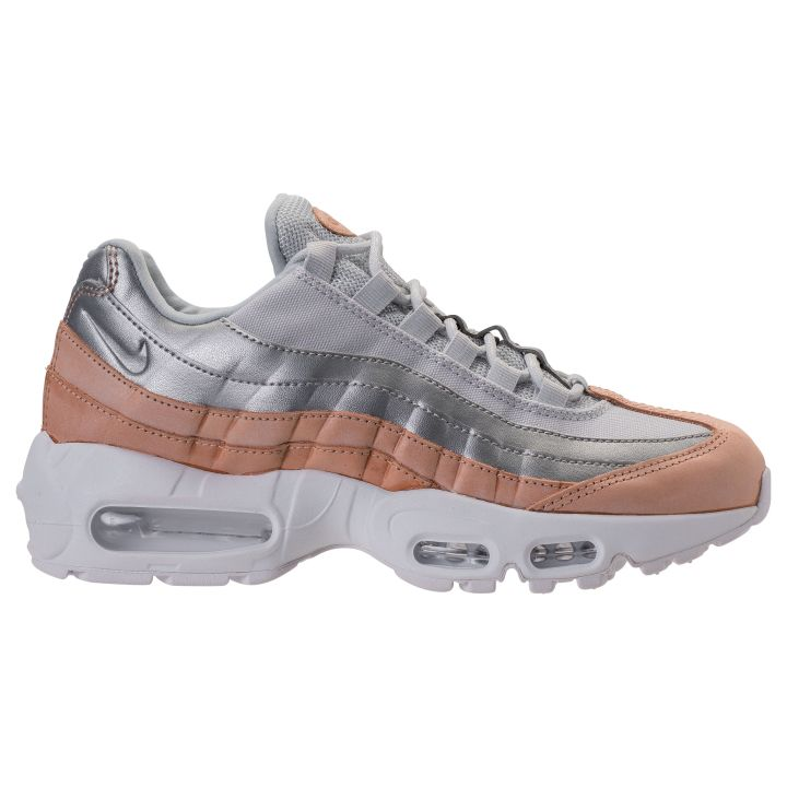 buy popular 8ec97 44f52 NIKE AIR MAX 95 SE PRM PURE PLATINUM MTLC SILVER-WHITE-BIO BEIGE
