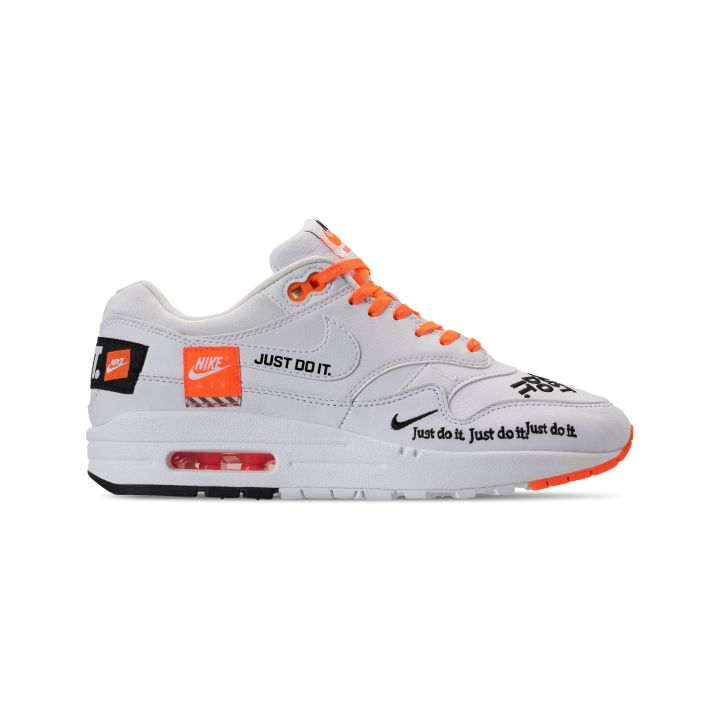 NIKE WMNS AIR MAX 1 LUX JDI TOTAL ORANGE : WHITE -BLACK 3
