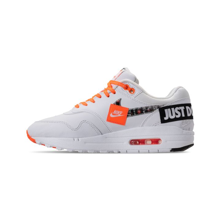 NIKE WMNS AIR MAX 1 LUX JDI TOTAL ORANGE : WHITE -BLACK 4
