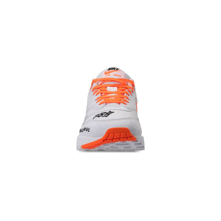 NIKE WMNS AIR MAX 1 LUX JDI TOTAL ORANGE : WHITE -BLACK 5