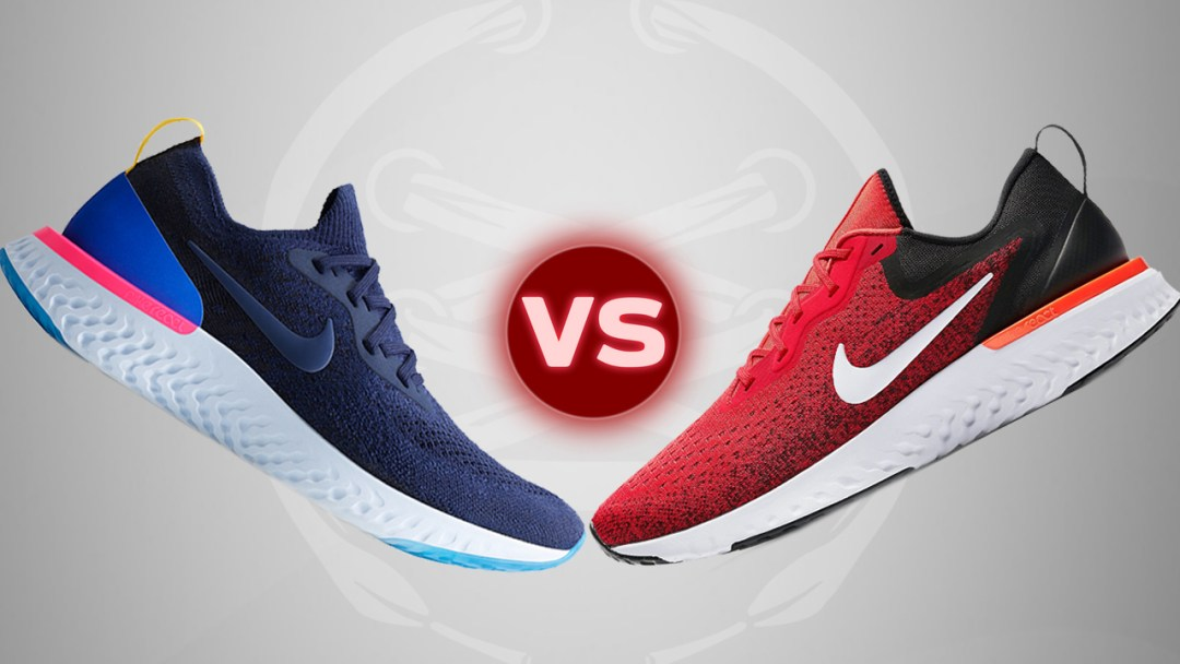 promo code e312b 80132 The Nike Odyssey React vs the Epic React Flyknit - WearTesters