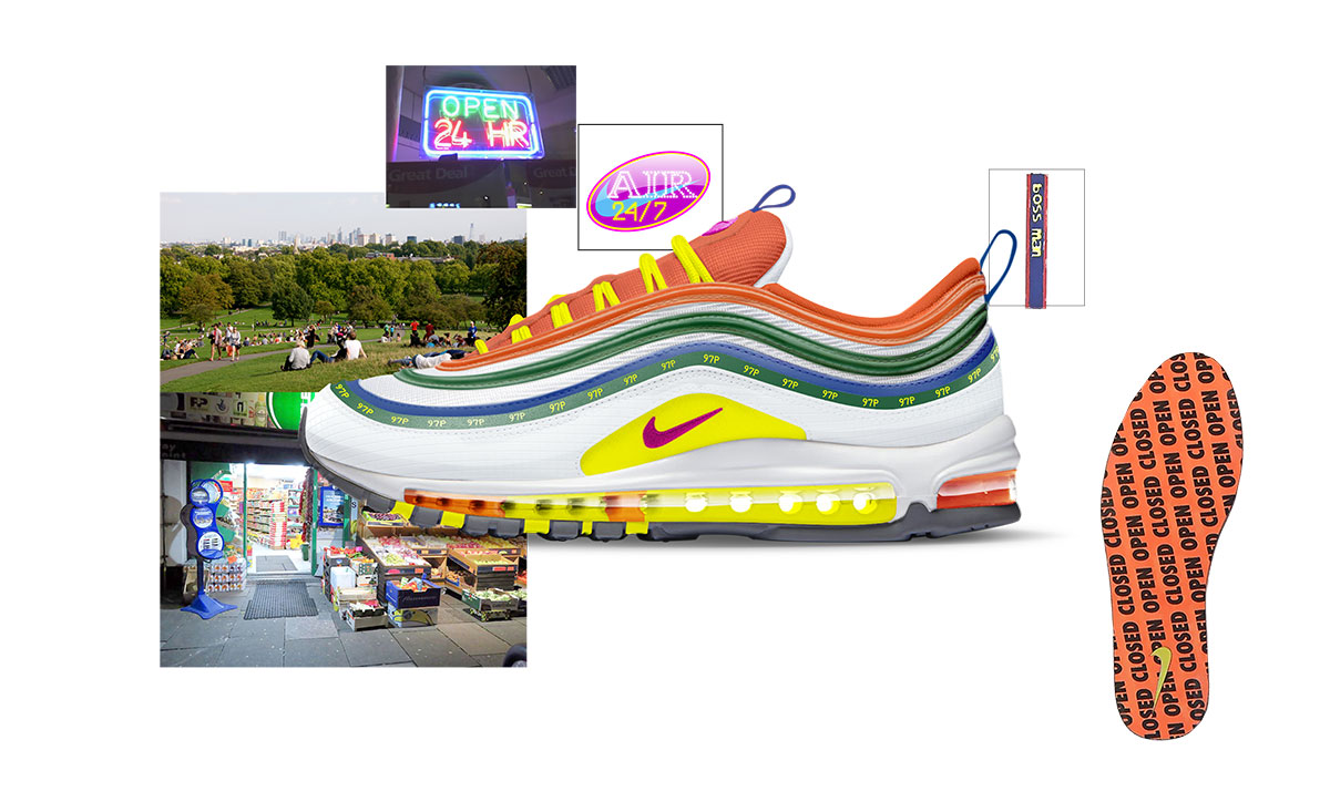 996c8d24a65 Nike on air voting london air max 97 summer of love jasmine lasode ...