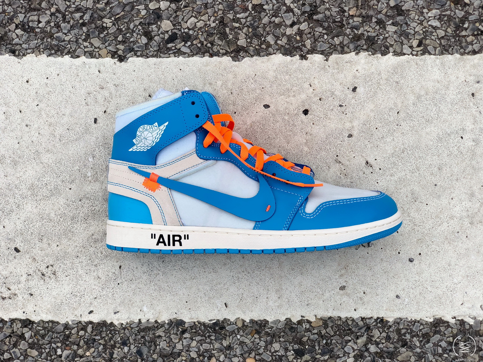 03e1987109b300 Here s a Detailed Look at Virgil Abloh s Off-White Air Jordan 1  UNC ...