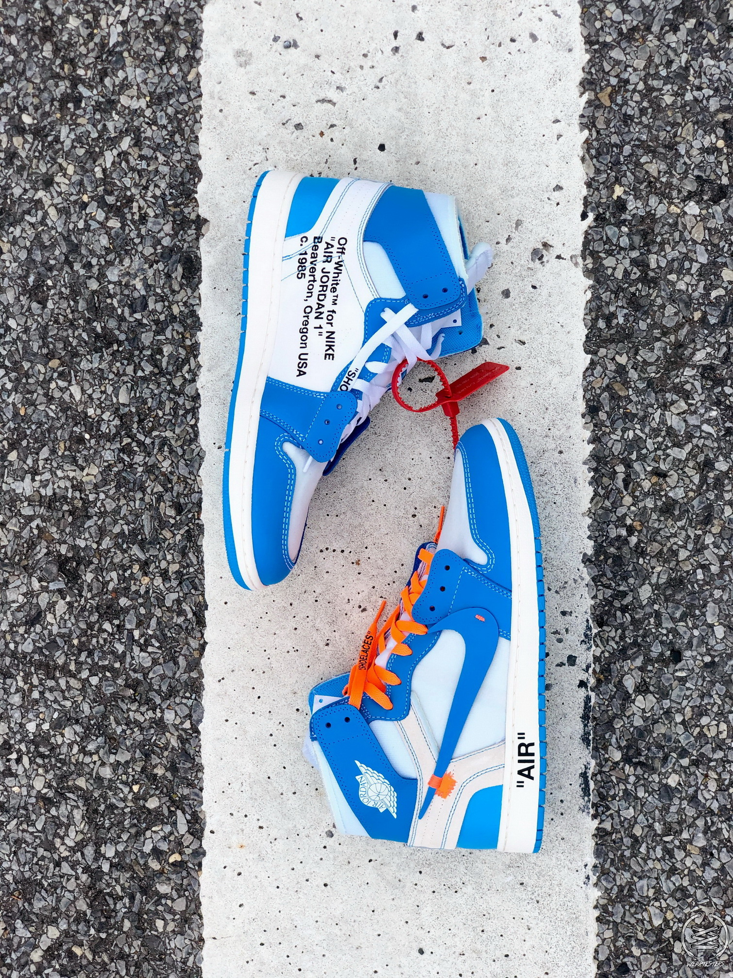 2d217f392c0a9f virgil abloh off white air jordan 1 UNC 20 - WearTesters