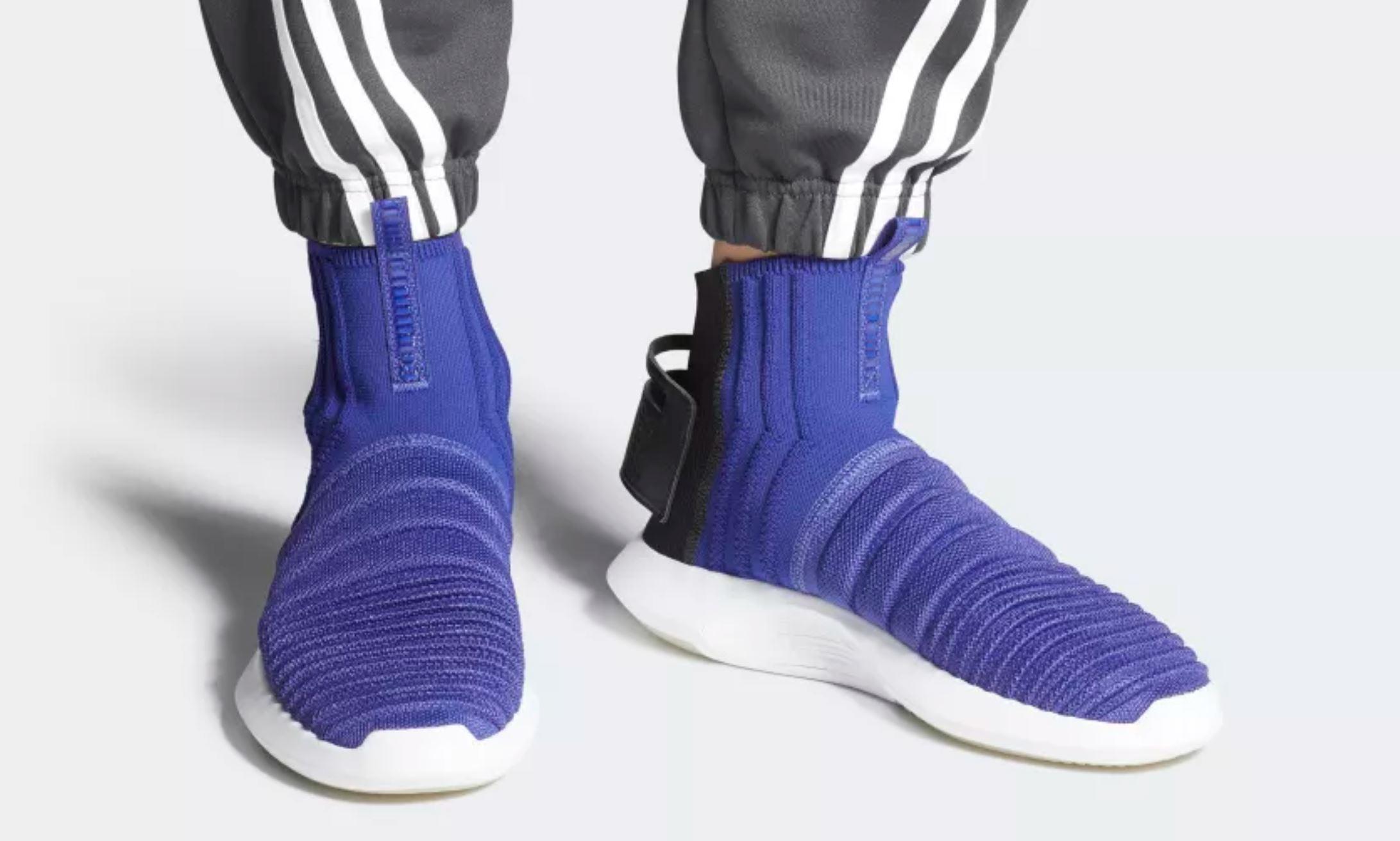 9d995be83e6a adidas crazy 1 adv sock primeknit  adidas crazy 1 adv sock pk real purple