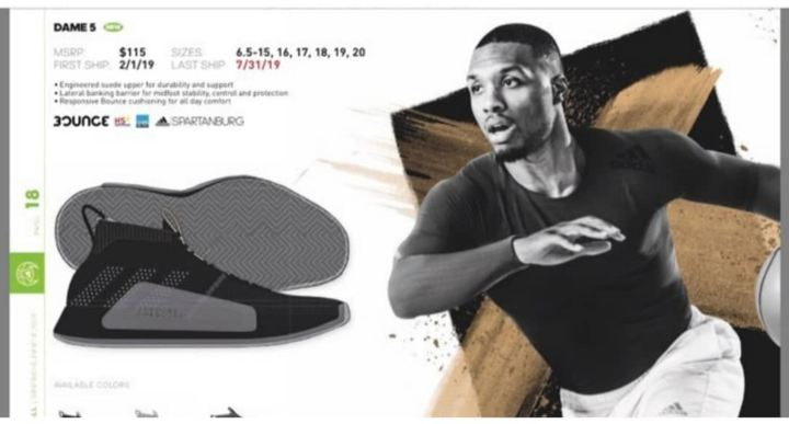 the best attitude 1dec5 e7020 adidas dame 5 damian lillard