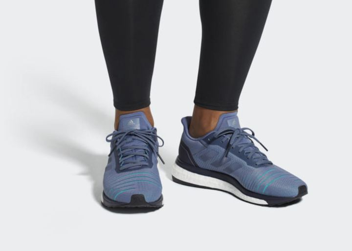 adidas solar drive on foot
