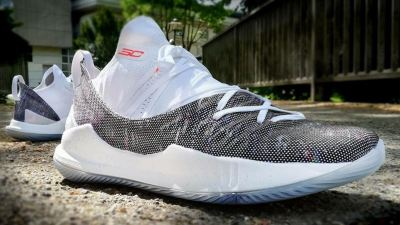 curry 5 neon coral