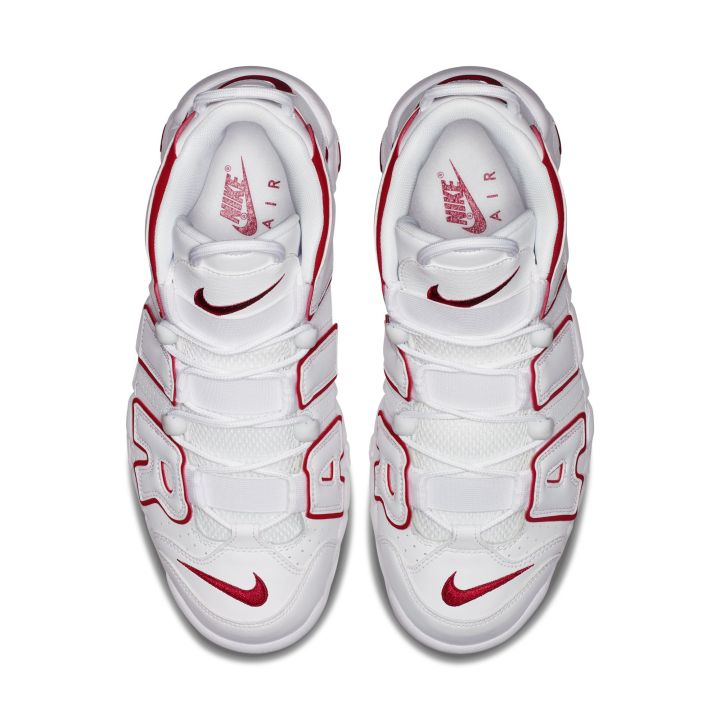 nike air more uptempo white red 1