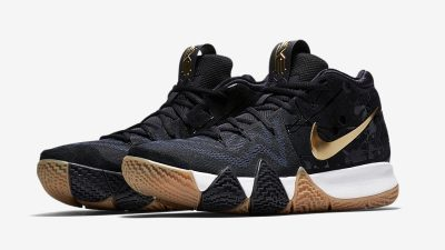 nike kyrie 4 metallic gold pitch blue