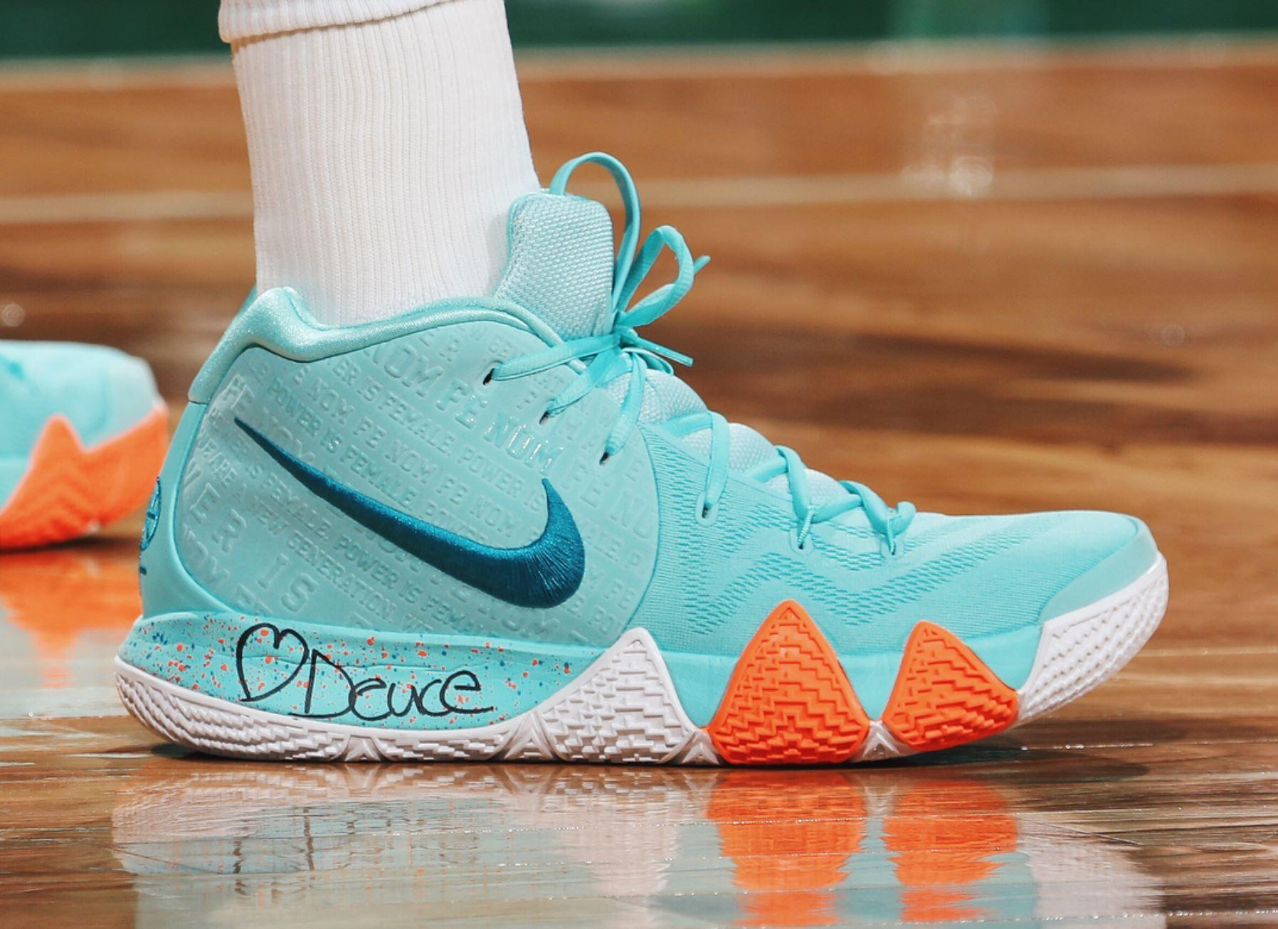 5be7574571f7 nike kyrie 4 power is female · Kicks On Court   Nike ...