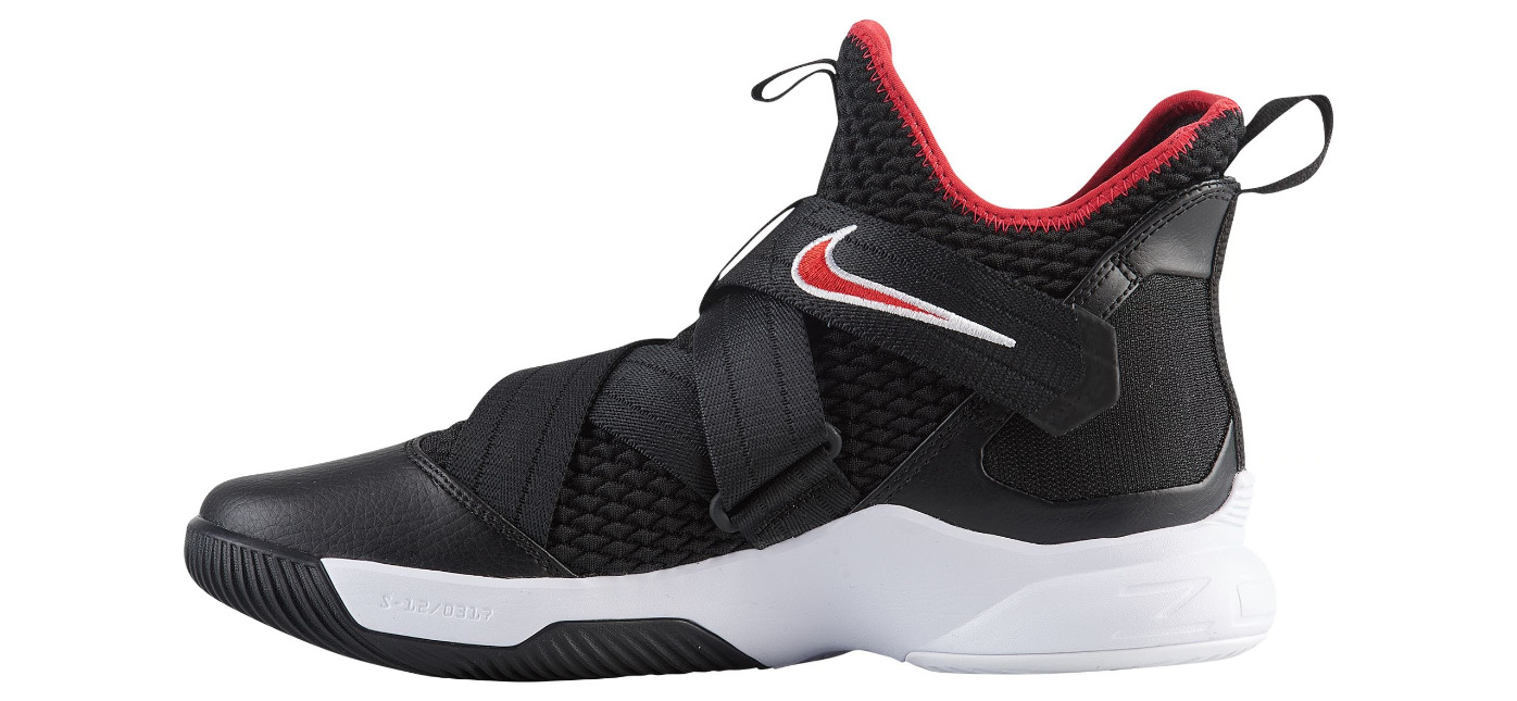 c33d476575cf nike lebron soldier 12 black red 1 - WearTesters