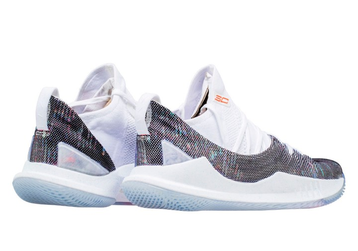 under armour curry 5 neon coral 3