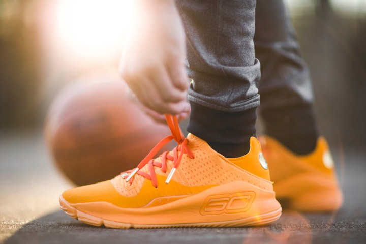 Under Armour Curry 4 Low Color Pack Orange