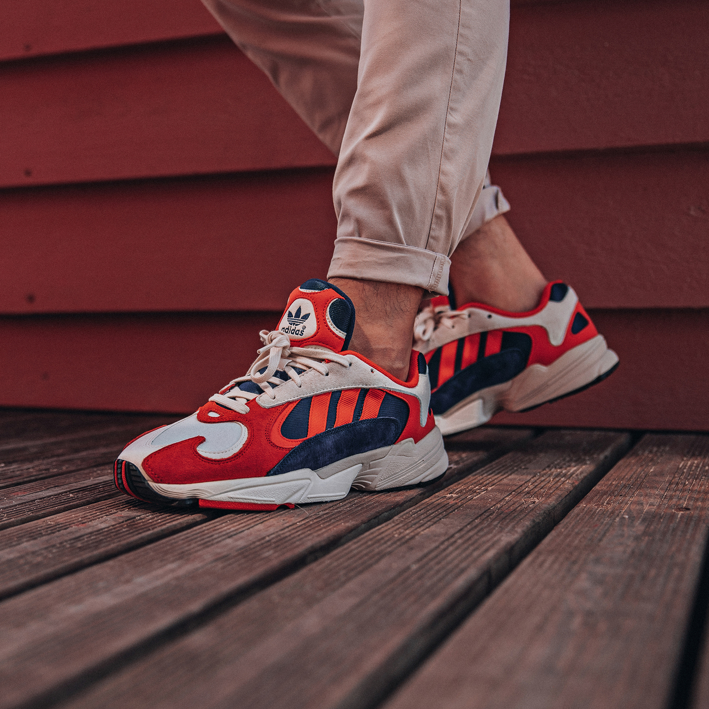 timeless design 08406 4d1fc adidas yung 1 on foot 1 · adidas   Kicks Off Court   Release Reminder ...