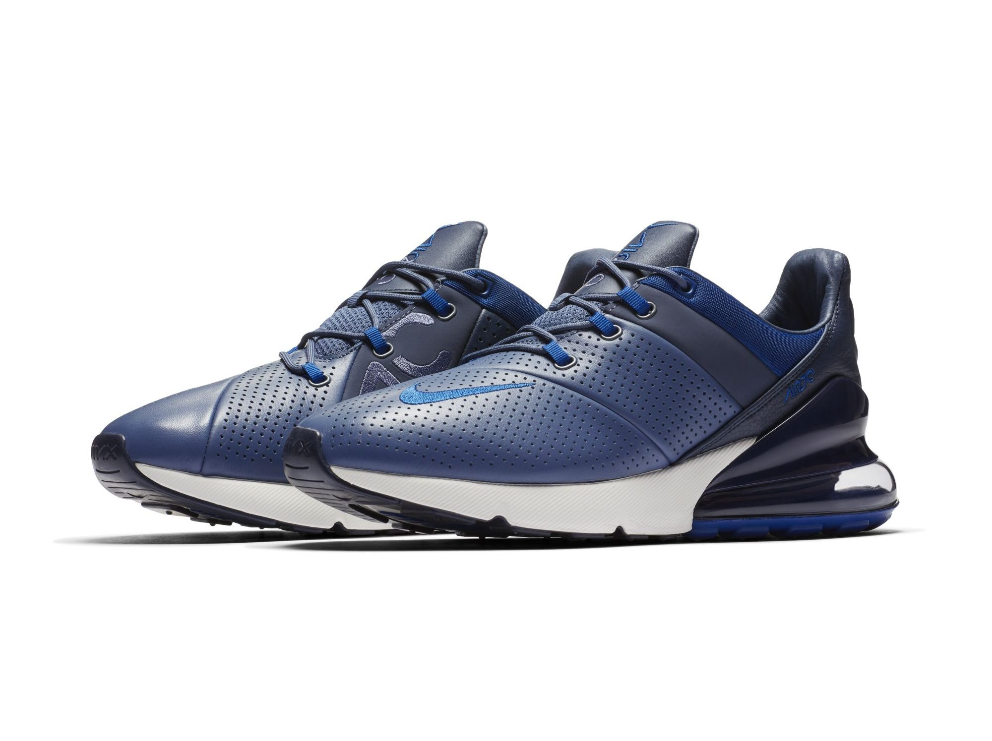 3343544f76 The Nike Air Max 270 Premium Flaunts Perforated Leather and a Low ...