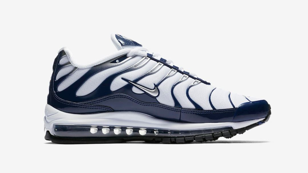 The Nike Air Max 97 Plus  Silver Shark  Release Date is Official ... 75825f8d1
