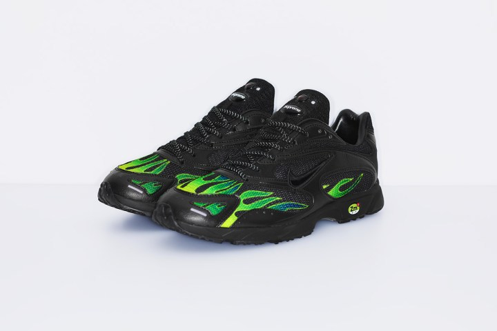 supreme nike air streak spectrum plus green 1