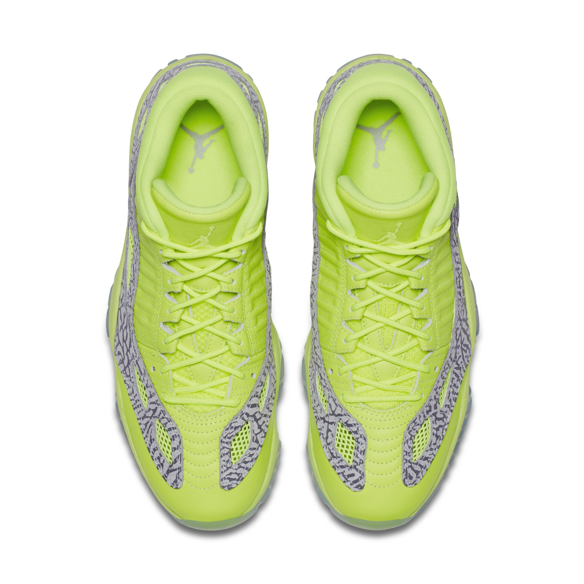 9ff34cb4c015 Air Jordan 11 Low IE Volt 2 - WearTesters