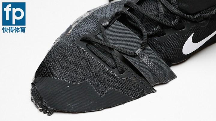 Kyrie Flytrap Deconstructed Left shoe elastic bands