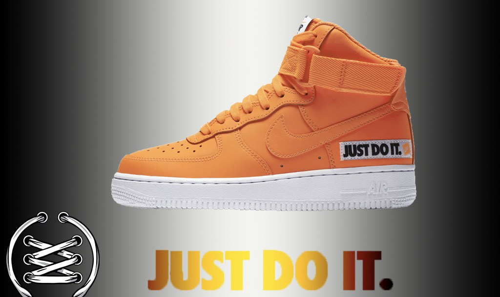 Another Air Force 1 High  Just Do It  is Releasing 24a944b69