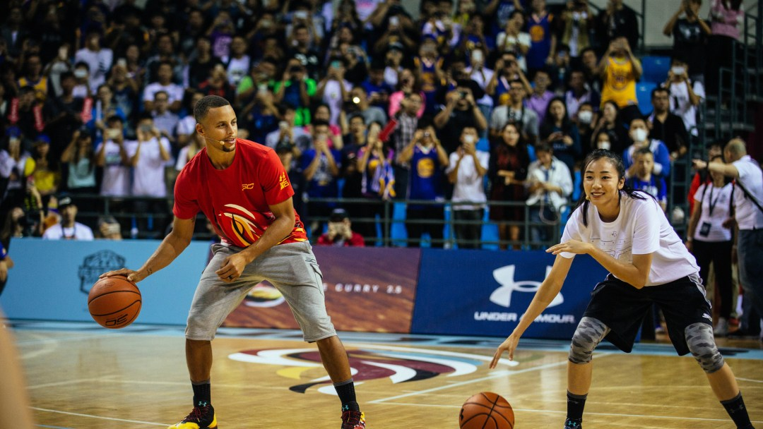 Stephen Curry 2018 asia tour