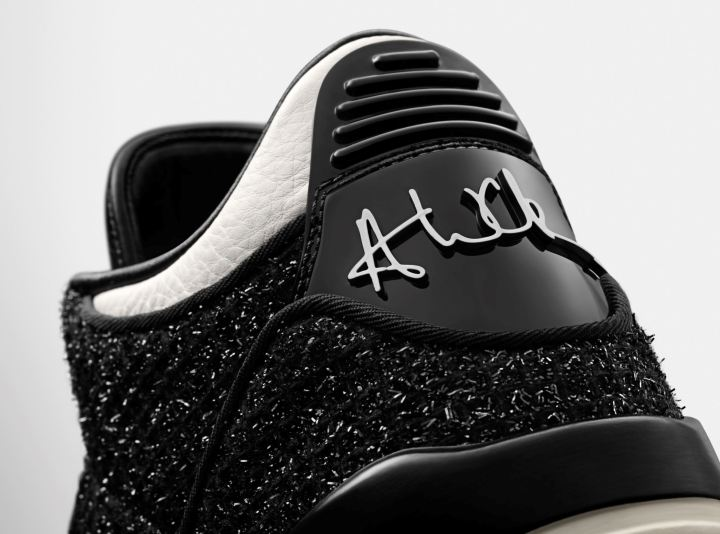 Vogue air jordan 3 SE AWOK black