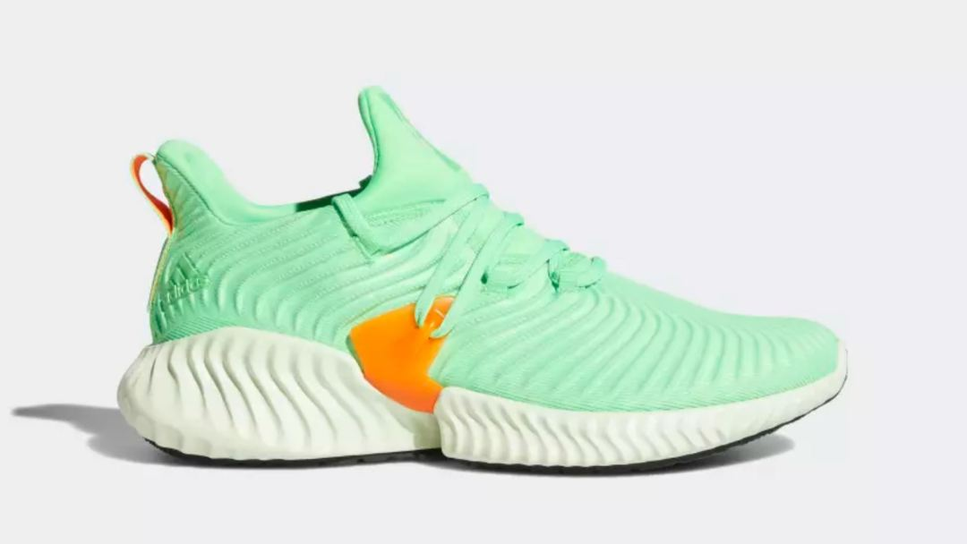 f64b6c5ab The adidas AlphaBounce Instinct  Shock Lime  Drops This Week ...
