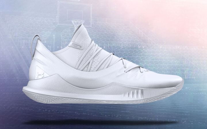 curry 5 custom white