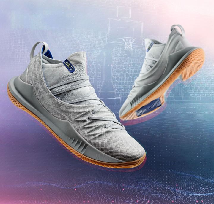 curry 5 grey gum pair
