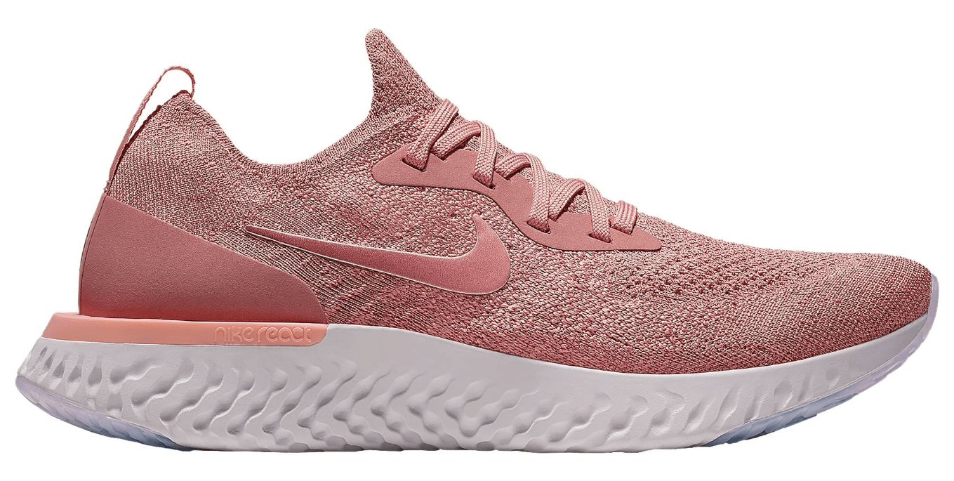 official photos 052d4 49300 womens nike epic react flyknit rust pink - WearTesters