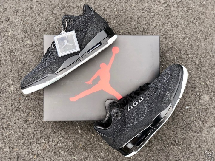9cb310cddf58 Air Jordan 3 Flyknit  Black Anthracite  Review