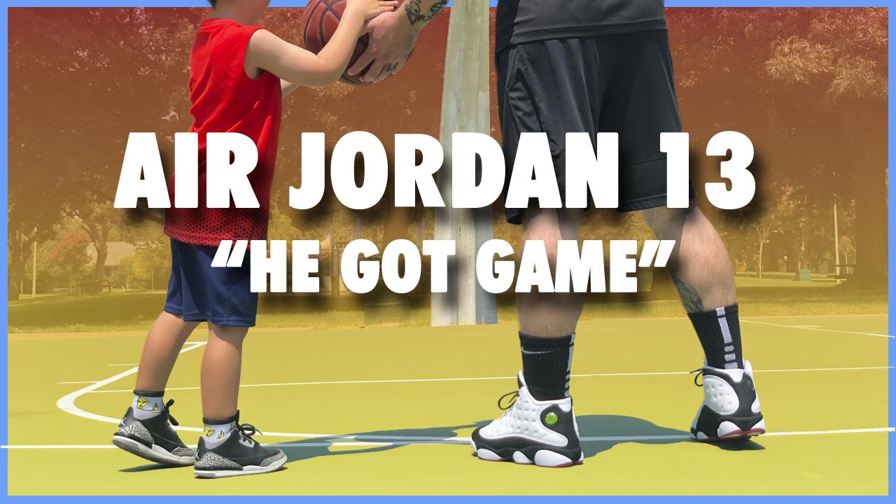 b5c61aa080931d Air Jordan 13  He Got Game